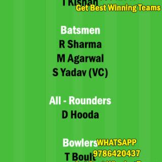 PBKS vs MI 17th Match Dream11 Team fantasy Prediction IPL 2021