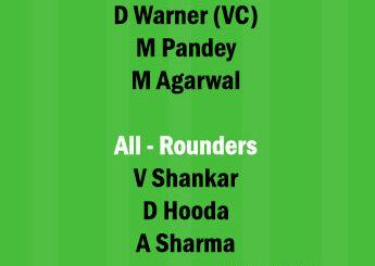 PBKS vs SRH 14th Match Dream11 Team fantasy Prediction IPL 2021PBKS vs SRH 14th Match Dream11 Team fantasy Prediction IPL 2021