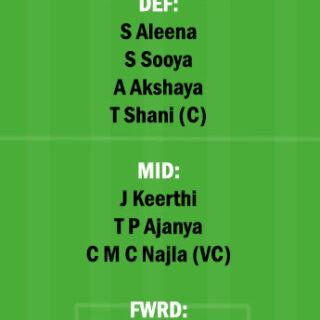 PEA vs RUB Dream11 Team fantasy Prediction Kerala Womens T20
