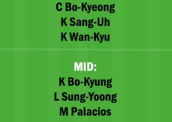 PHG vs JNB Dream11 Team fantasy Prediction Korean League