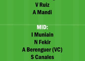 RB vs ATH Dream11 Team fantasy Prediction LaLiga Santander