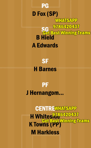 SAC vs MIN Dream11 Team fantasy Prediction NBA