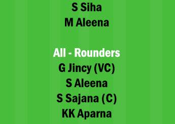 SAP vs AMB Dream11 Team fantasy Prediction Kerala Womens T20 (2)