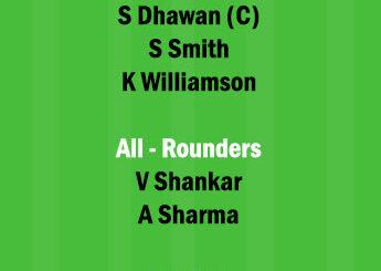 SRH vs DC 20th Match Dream11 Team fantasy Prediction IPL 2021