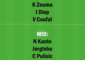 WHU vs CHE Dream11 Team fantasy Prediction Premier League