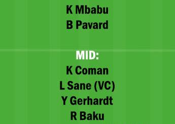 WOL vs BAY Dream11 Team fantasy Prediction Bundesliga