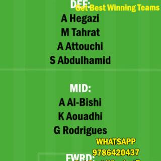 ABH vs ITT Dream11 Team fantasy Prediction Saudi Arabian League