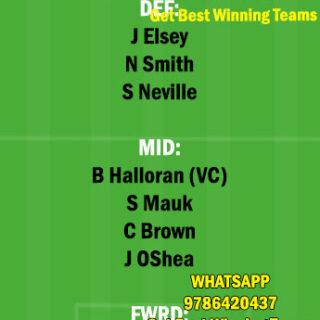 ADL vs BRB Dream11 Team fantasy Prediction A League
