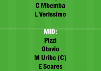 BEN vs POT Dream11 Team fantasy Prediction Portuguese League