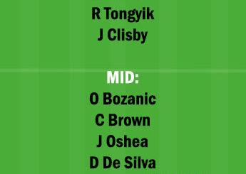 BRB vs CCM Dream11 Team fantasy Prediction A League