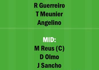 DOR vs LEP Dream11 Team fantasy Prediction Bundesliga