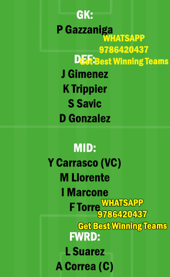 ELC vs ATL Dream11 Team fantasy Prediction LaLiga Santander