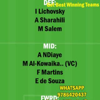 ETT vs SHB Dream11 Team fantasy Prediction Saudi Arabian League