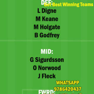EVE vs SHF Dream11 Team fantasy Prediction Premier League