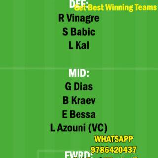 FAM vs NAC Dream11 Team fantasy Prediction Portuguese League
