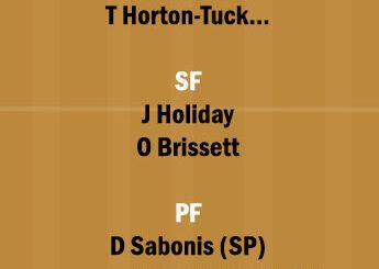 IND vs LAL Dream11 Team fantasy Prediction NBA