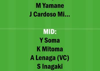 KAW vs NGY Dream11 Team fantasy Prediction Japanese League