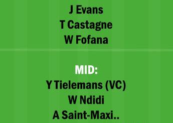 LEI vs NEW Dream11 Team fantasy Prediction Premier League