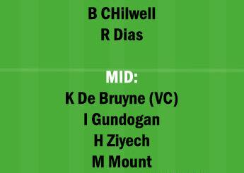 MCI vs CHE Dream11 Team fantasy Prediction Champions League