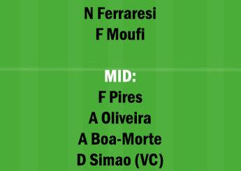POR vs MOR Dream11 Team fantasy Prediction Portuguese League
