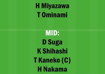 REY vs SAP Dream11 Team fantasy Prediction Japanese League
