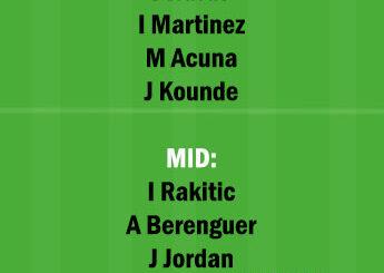 SEV vs ATH Dream11 Team fantasy Prediction LaLiga Santander