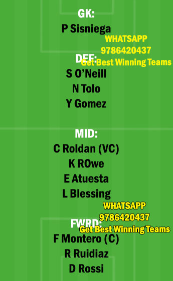 SS vs LAF Dream11 Team fantasy Prediction Major League Soccer