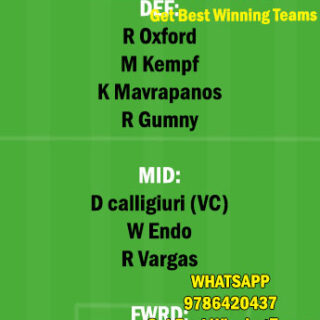 STU vs AUG Dream11 Team fantasy Prediction Bundesliga