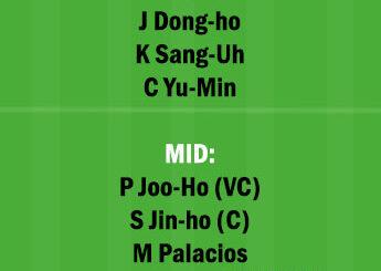 SUW vs PHG Dream11 Team fantasy Prediction Korean League