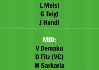 SVR vs AUS Dream11 Team fantasy Prediction Austrian League