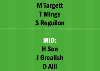 TOT vs AVL Dream11 Team fantasy Prediction Premier League