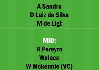 UDI vs JUV Dream11 Team fantasy Prediction Serie A