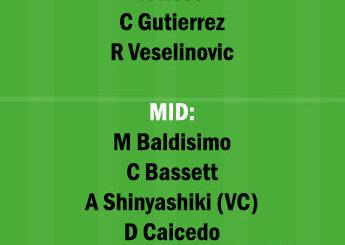 VAN vs CR Dream11 Team fantasy Prediction Major League Soccer