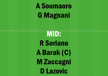 VER vs BOG Dream11 Team fantasy Prediction Serie A