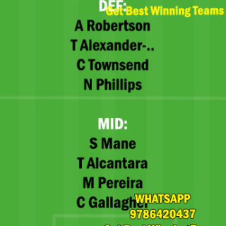 WBA vs LIV Dream11 Team fantasy Prediction Premier League