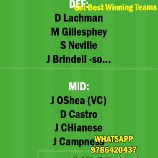 BRB vs PG Dream11 Team fantasy Prediction A League