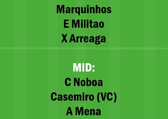 BRZ vs ECU Dream11 Team fantasy Prediction World Cup Qualifiers
