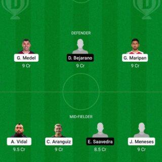 CHI vs BOL Dream11 Team fantasy Prediction Copa America