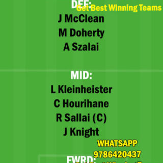 HUN vs IRE Dream11 Team fantasy Prediction International Friendly