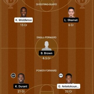 MIL vs BKN Dream11 Team fantasy Prediction NBA (2)