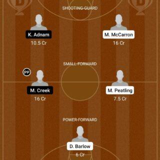 MU vs SEMP Dream11 Team fantasy Prediction NBA