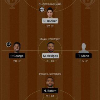 PHX vs LAC Dream11 Team fantasy Prediction NBA (2)