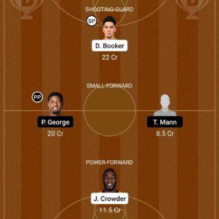 PHX vs LAC Dream11 Team fantasy Prediction NBA (3)