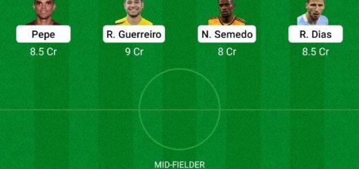 POR vs GER Dream11 Team fantasy Prediction Euro