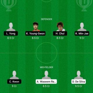 SRI vs KOR Dream11 Team fantasy Prediction World Cup Qualifiers