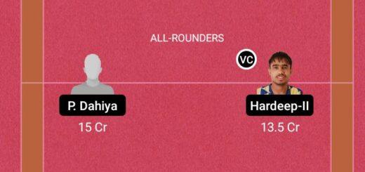 AAKA vs DNHF Dream11 Team fantasy Prediction K7 Kabaddi Stage Up