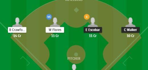 AD vs SFG Dream11 Team fantasy Prediction MLB 2