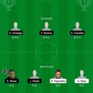 ATN vs SS Dream11 Team fantasy Prediction Major League Soccer