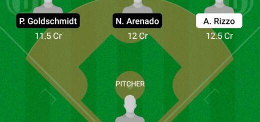 CHC vs SLC Dream11 Team fantasy Prediction MLB