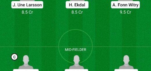 DJU vs IKS Dream11 Team fantasy Prediction Swedish League